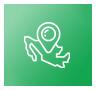Icono de la república mexicana adentro de un circulo verde.